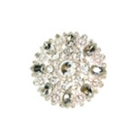 Rhinestone and Crystal Upholstery Brooches