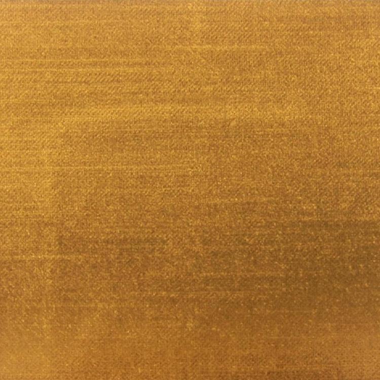 Antique Gold Velvet Designer Upholstery Fabric