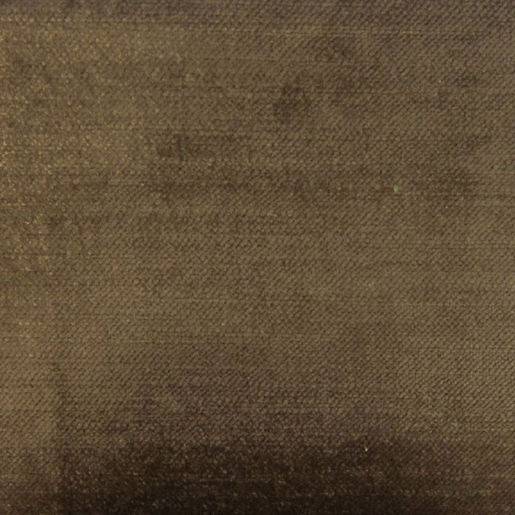 Brown Velvet Designer Upholstery Fabric Imperial