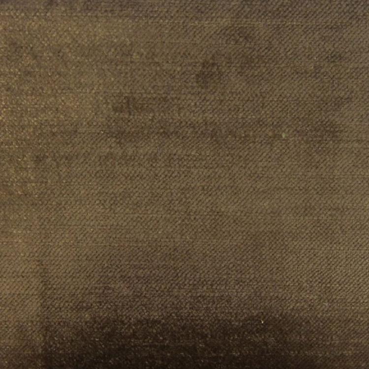 Brown Velvet Designer Upholstery Fabric Imperial