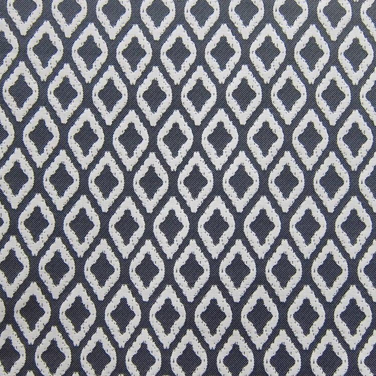 Blue Grey Outdoor Woven Designer Upholstery Fabric Flip Flop Hautehousefabric
