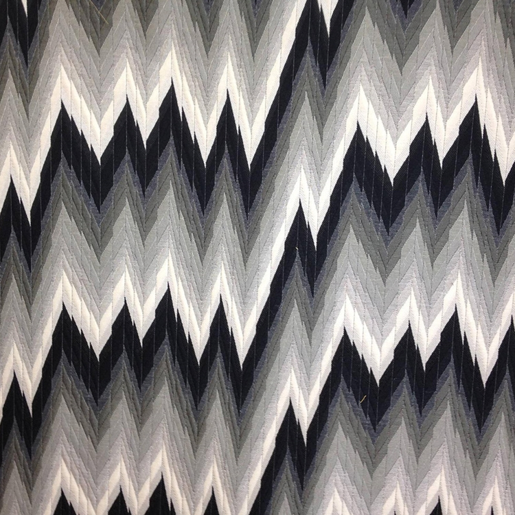 Hhf Maison 1 Black Woven Upholstery Fabric
