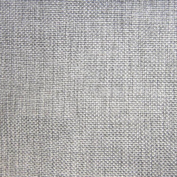 Hhf Alamo Silver Linen Like Upholstery Fabric