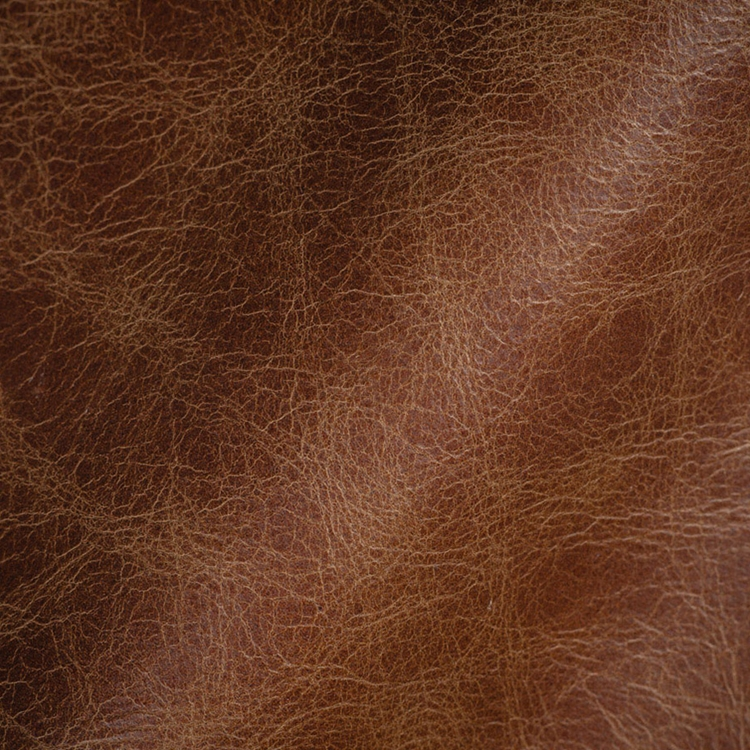Haute House Fabric Argo Dark Brown Leather Upholstery 3401