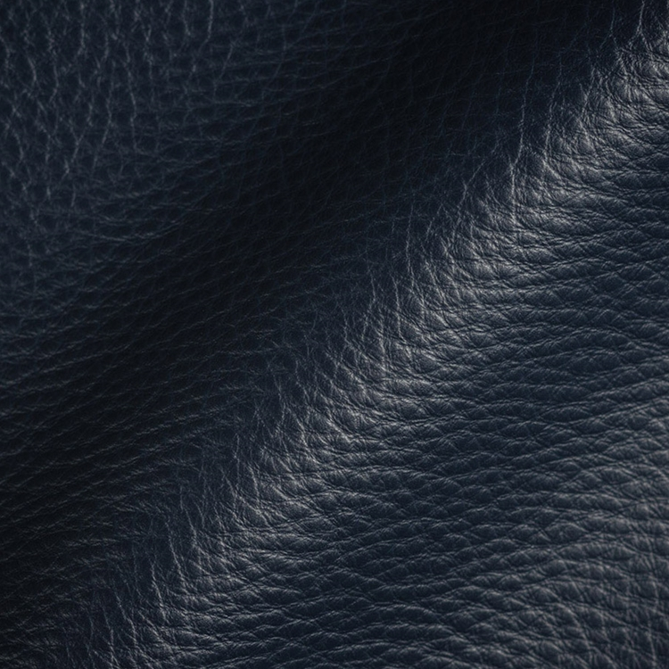 Navy Blue Leather Upholstery Designer Fabric Hautehousefabric Com