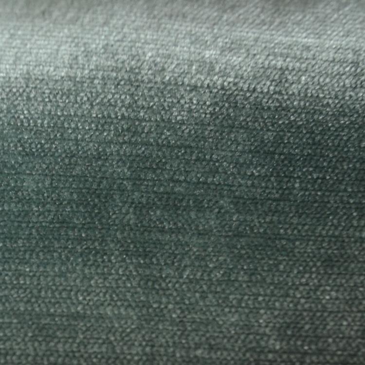 Seafoam Green Velvet Designer Upholstery Fabric Shimmer Hautehousefabric
