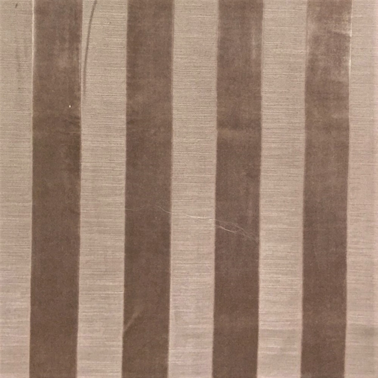 Mocha Brown Stripe Fabric Upholstery Fabric Hautehousefabric Com