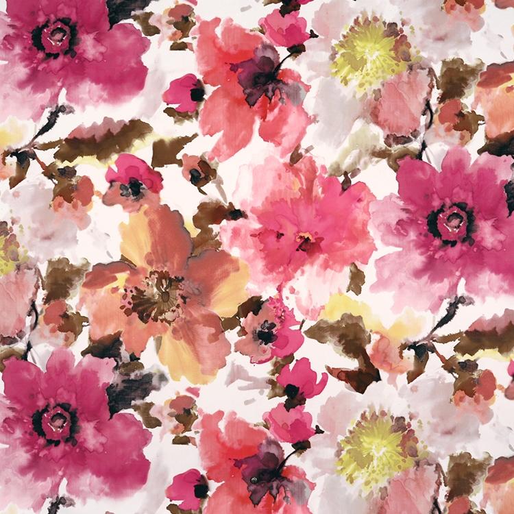 Alicia Fuchsia Velvet Designer Upholstery Fabric