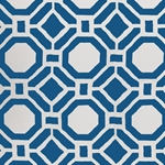 Haute House Tropicana Sapphire Outdoor Fabric