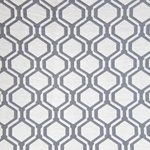 Haute House Fabric - Honeycomb Grey - Woven #2838