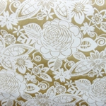 Haute House Fabric - Fiesta Latte -  Floral #2866