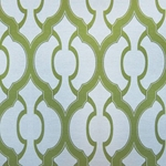 Haute House Fabric - Mila Apple - Geometric Upholstery Fabric