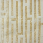 Haute House Fabric - Amazement Butter - Chenille Geometric Fabric #2889