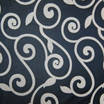 Haute House Fabric - Rene Black - Contemporary Fabric