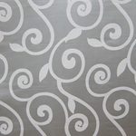 Haute House Fabric - Rene Grey - Contemporary Fabric