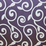 Haute House Fabric - Rene Lilac - Contemporary Fabric
