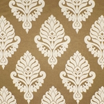 Haute House Fabric - Shelby Beige - Damask Fabric #2914