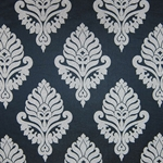 Haute House Fabric - Shelby Black - Damask Fabric