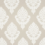 Haute House Fabric - Shelby Ivory - Damask Fabric #2920