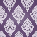 Haute House Fabric - Shelby Lilac - Damask Fabric #2921