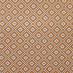 Haute House Fabric - Alto Orange - Woven Geometric Fabric #2999