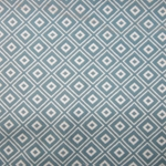 Haute House Fabric - Alto Turquoise - Woven Geometric Fabric #3002