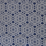 Haute House Fabric - Pizelles Sapphire - Geometric Woven Fabric #3022