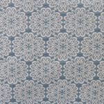 Haute House Fabric - Pizelles Turquoise - Geometric Woven Fabric #3023