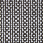 Haute House Fabric - Pearls Espresso - Woven Circle Fabric #3045