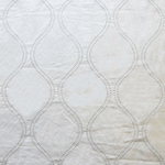 Haute House Fabric - Hour Glass Ivory - Contemporary Fabric #3101