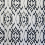 Haute House Fabric - Bismark Voyage - Ikat Fabric #3127