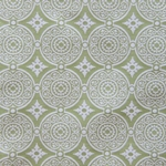 Haute House Fabric - Medallion Apple - Woven Fabric #3128