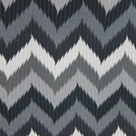 Haute House Fabric -Maison 2 Black - Chevron Fabric #3162