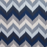 Haute House Fabric -Maison 2 Denim - Chevron Fabric #3163