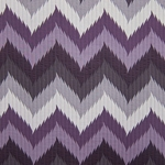 Haute House Fabric -Maison 2 Purple - Chevron Fabric #3165