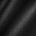 Haute House Fabric - Elegancia Black - Leather Upholstery Fabric #3203