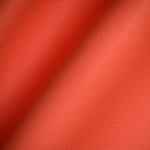 Haute House Fabric - Elegancia Orange - Leather Upholstery Fabric #3217