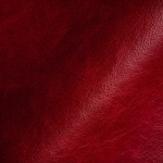 Haute House Fabric - Geyser Lacquer Red - Leather Upholstery Fabric #3398
