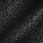 Haute House Fabric - Tut Black - Leather Upholstery Fabric #3412