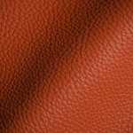 Haute House Fabric - Tut Paprika - Leather Upholstery Fabric #3423