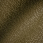 Haute House Fabric - Tut Olive - Leather Upholstery Fabric #3424