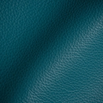 Haute House Fabric - Tut Turquoise - Leather Upholstery Fabric #3433