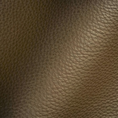Haute House Fabric - Abalone Chocolate - Leather Upholstery Fabric #3447