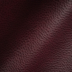 Haute House Fabric - Royce Burgundy - Leather Upholstery Fabric #3471
