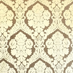 Haute House Fabric - Baron Brass - Damask Velvet #3863