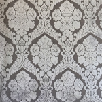 Haute House Fabric - Baron Gray - Damask Velvet #3866