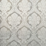 Haute House Fabric - Baron White - Damask Velvet #3870