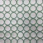 Haute House Fabric - Cirque Apple - Circle Linen Like #3877