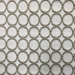 Haute House Fabric - Cirque Latte - Circle Linen Like #3880