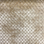 Haute House Fabric - Cavalli Beige - Check/Plaid Velvet #3885